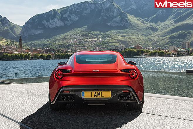 Aston -Martin -Vanquish -Zagato -rear.