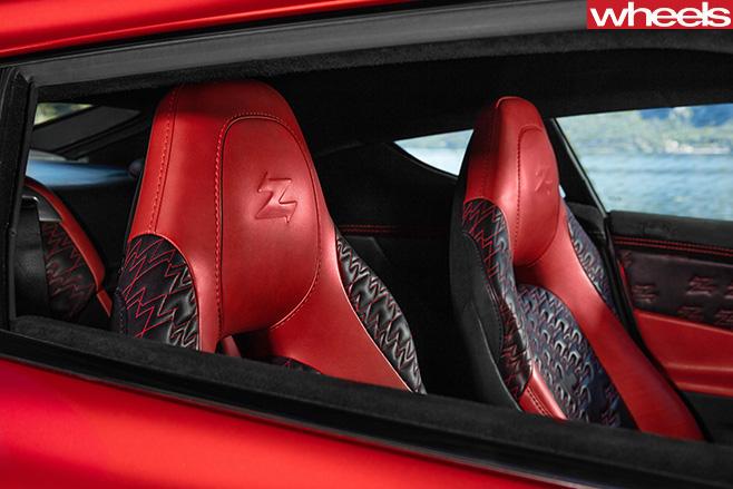 Aston -Martin -Vanquish -Zagato -seats.