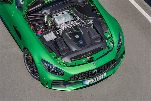 Mercedes-AMG GT R engine