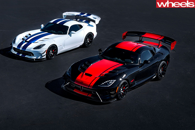 Black -and -white -Dodge -Vipers