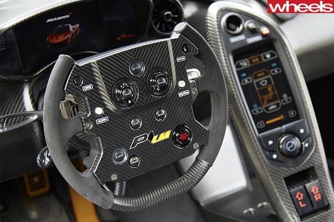 Mc Laren -P1-Lazante -steering -wheel