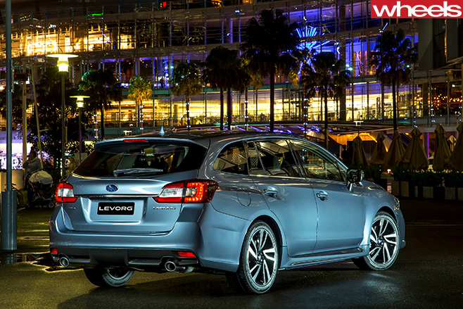 Subaru -Levorg -wagon -rear