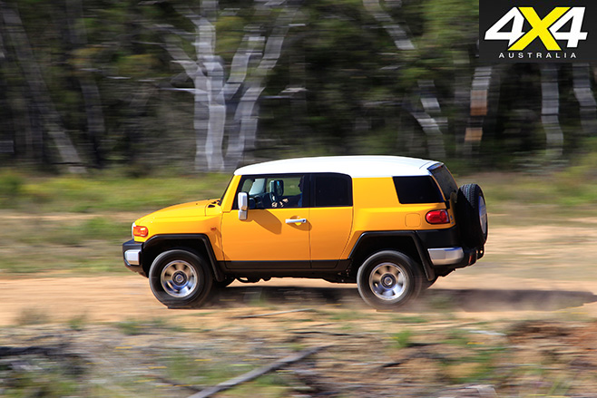 Toyota FJ Cruiser driving side