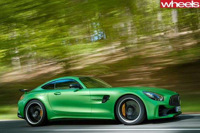 AMG-GT-R-driving -side