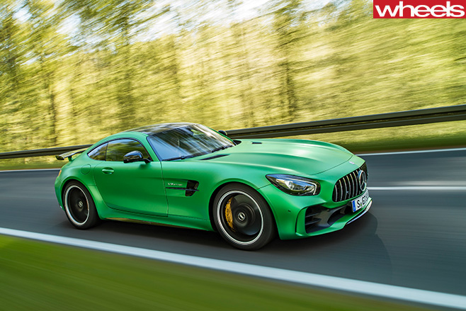 AMG-GT-R-driving -side-