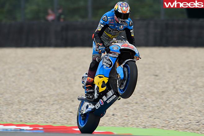 Jack -Miller -motorbike -wheelie -Assen -2016