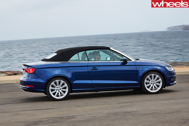 Audi -A3-Cabriolet -driving -side