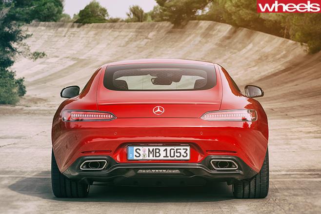 Mercedes -AMG-GT-rear