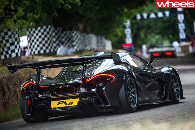 Mc Laren -P1-Goodwood -Festival -of -Speed