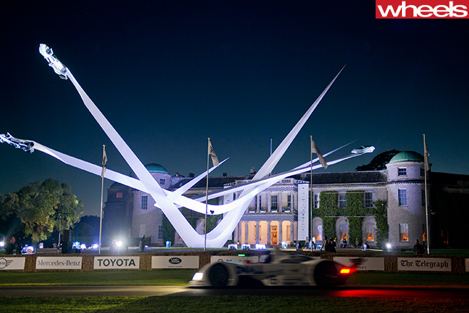 Goodwood -Festival -of -Speed -lit -up