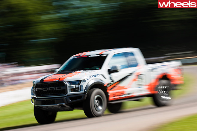 Ford -Truck -at -goodwood -festival -of -speed