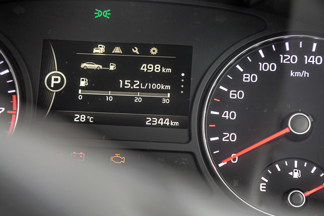 Kia -Optima -GT-instrument -cluster