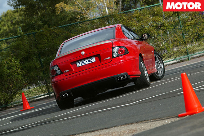 Holden Monaro HRT 427 rear driving