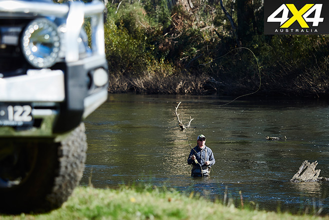 Fly fishing with the -mazda bt-50