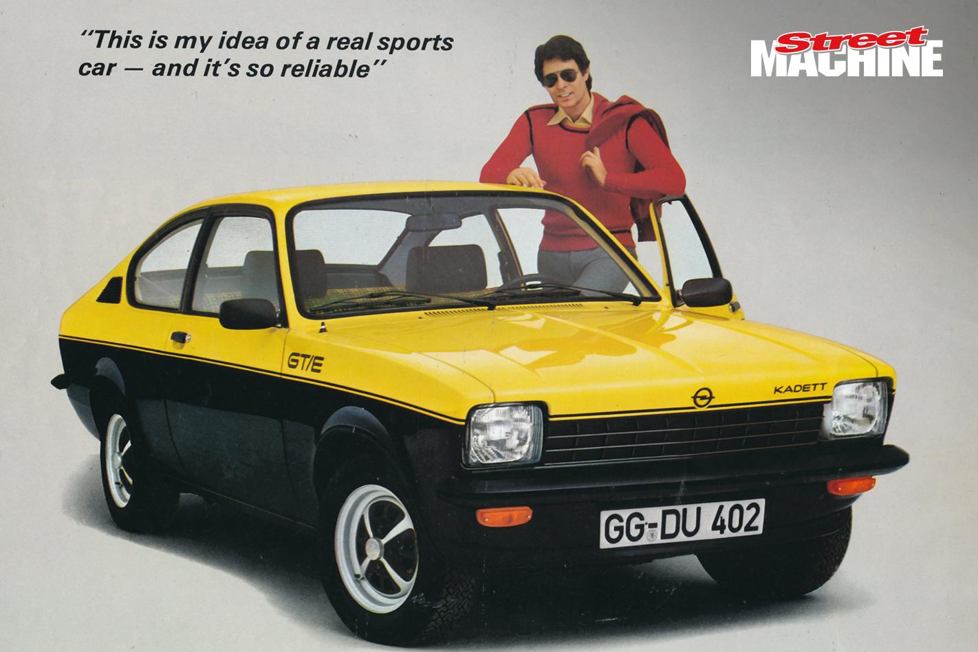 Opel Kadett C Coupe Gemini