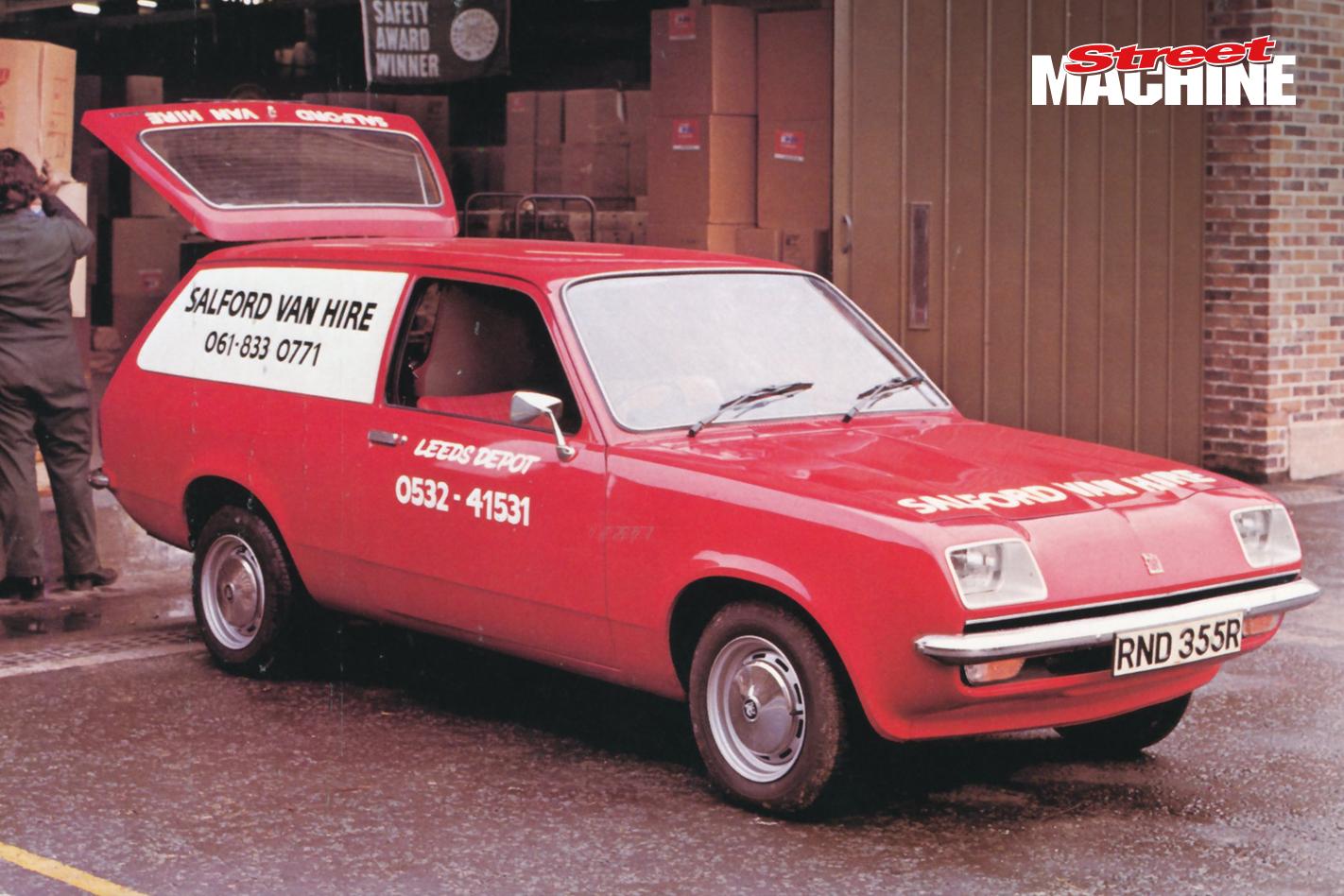 Vauxhall Chevette Wagon Gemini