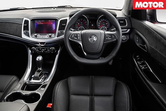 2016 Holden Commodore SS ute interior