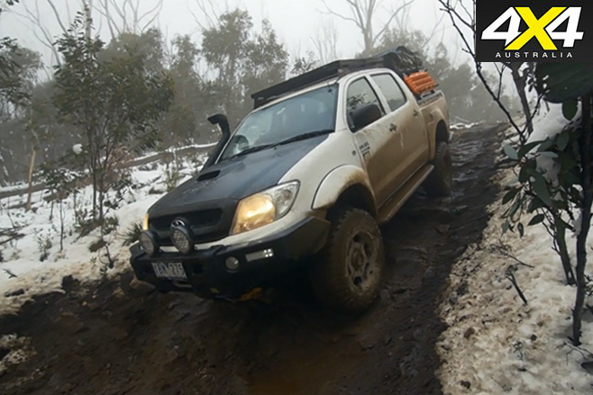 Project Toyota HiLux downhill