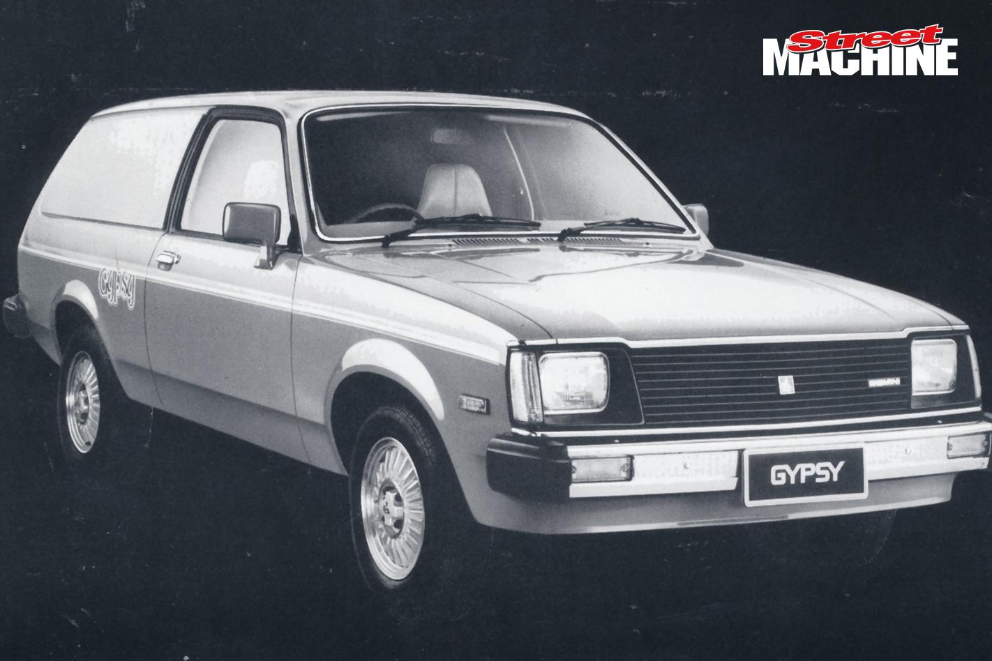 Holden Gemini Gypsy Panel Van