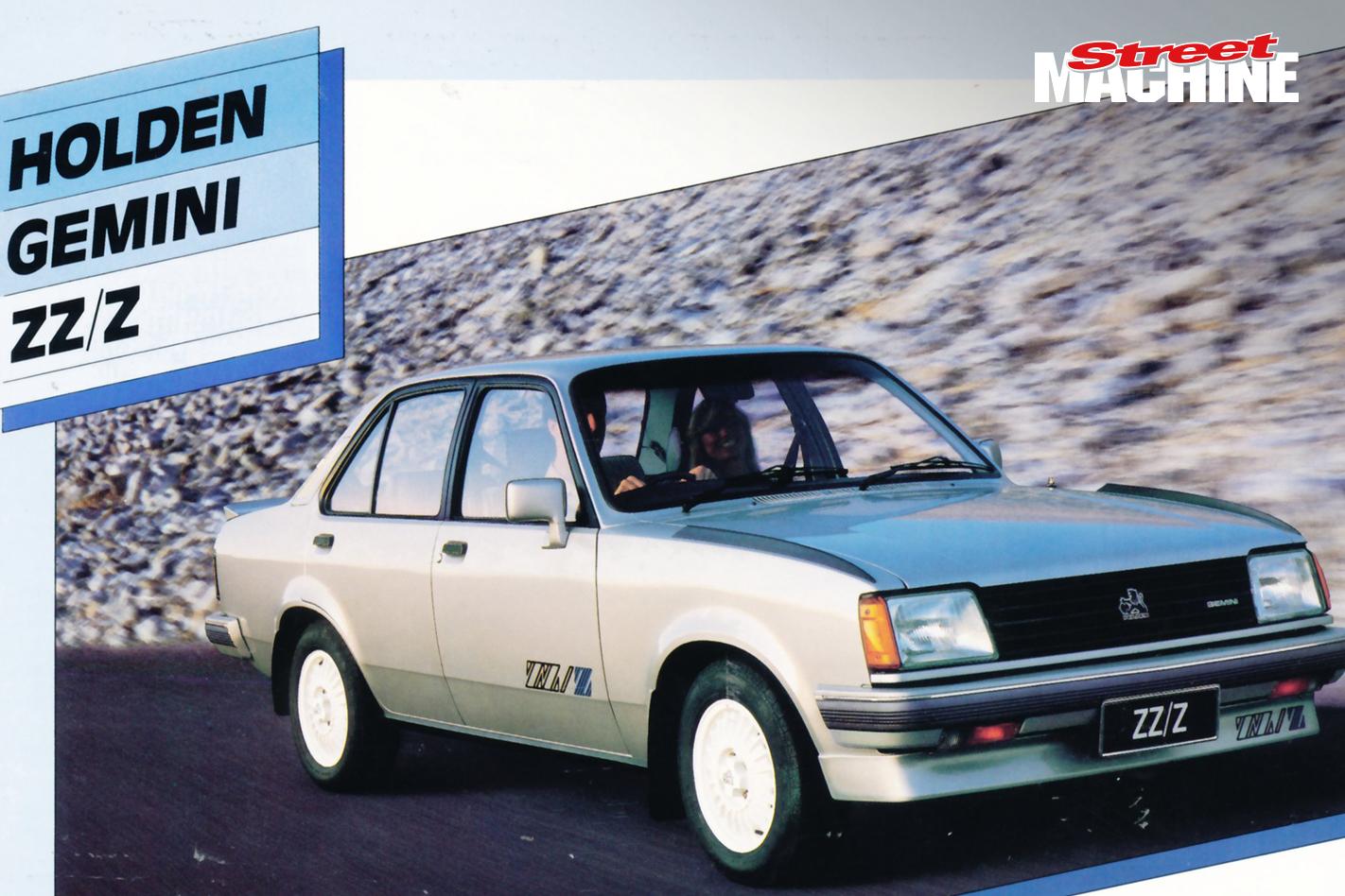 Holden Gemini ZZZ Nw