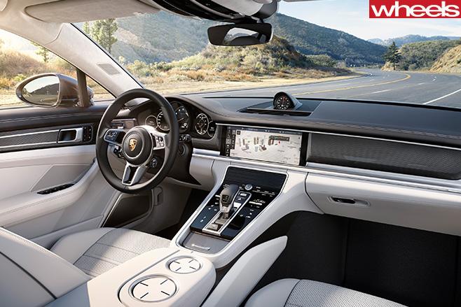 Porsche -Panamera -interior