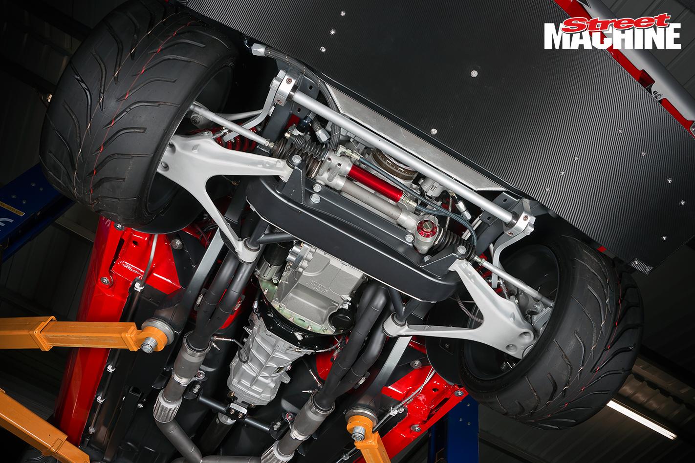 69 Camaro Pro Touring LSX 9 Nw