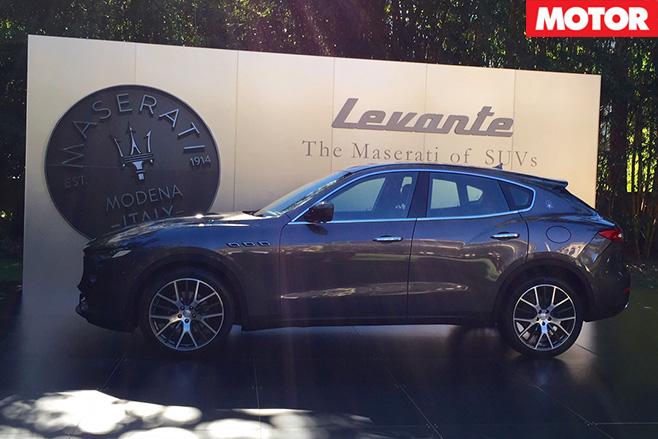 Maserati Levante diesel side
