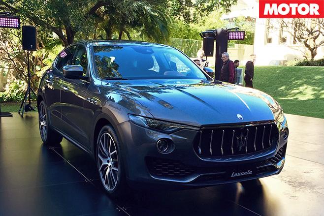 Maserati Levante diesel front