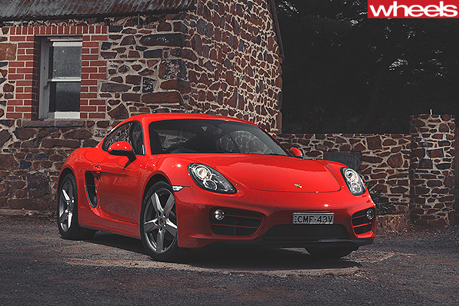 Porsche -Cayman -front -side