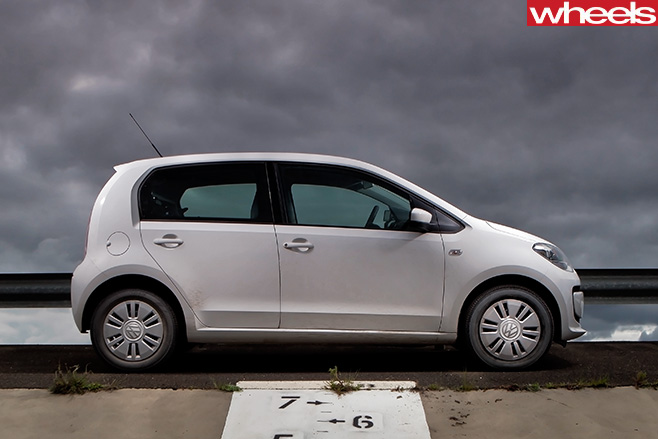 Volkswagen -Up -side