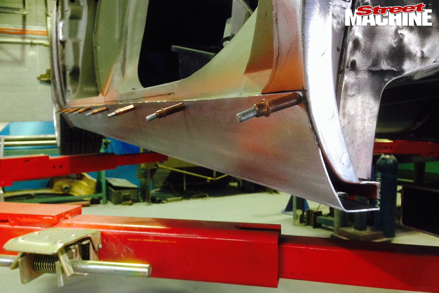 8-Pontiac -Laurentian -build -sills -extended