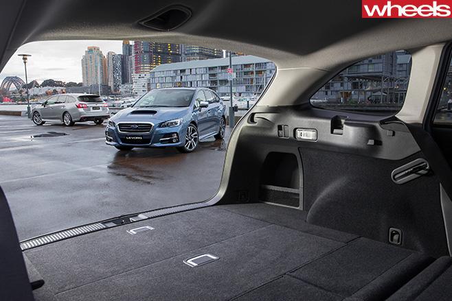 Subaru -Levorg -boot
