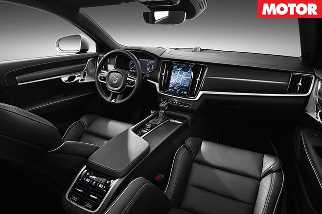 Volvo V90 T8 Estate interior