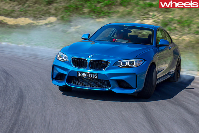 BMW-M2-front -side
