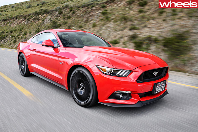 Ford -Mustang -front -side