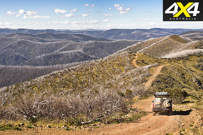 Victorian High Country 4x4 trails