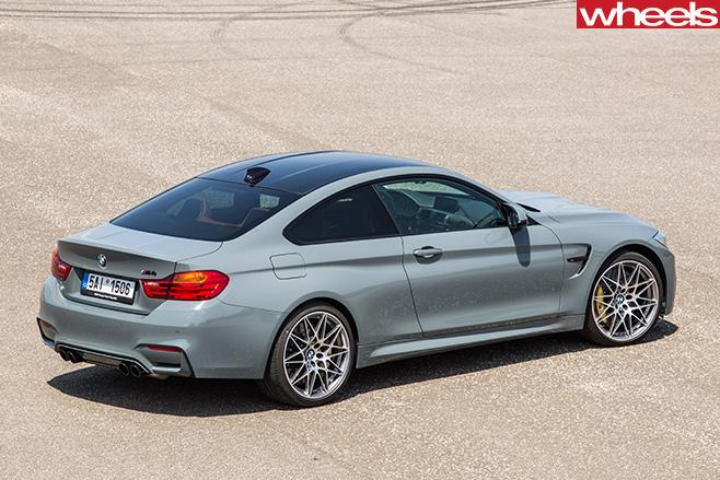 BMW-M2-rear -side