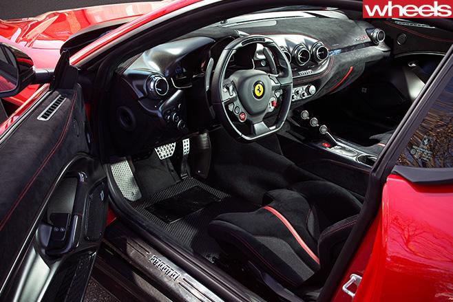 Ferrari  F12 Tdf  Interior