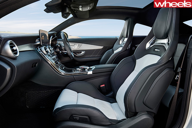 Mercedes -AMG-C63-Coupe -interior -side