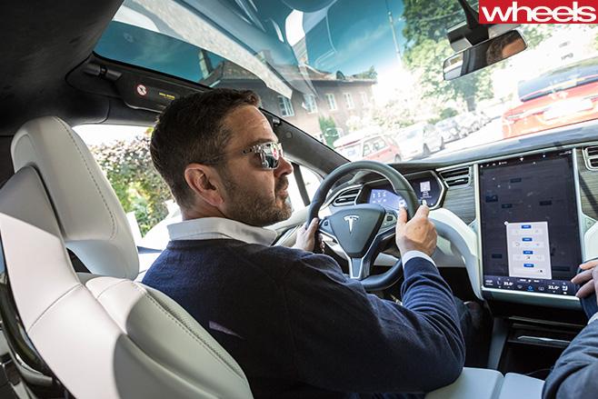 Tesla -Model -X-driving