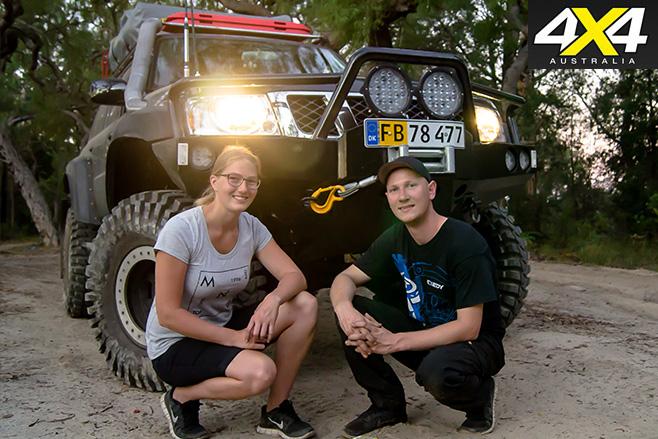 Heidi and Kim