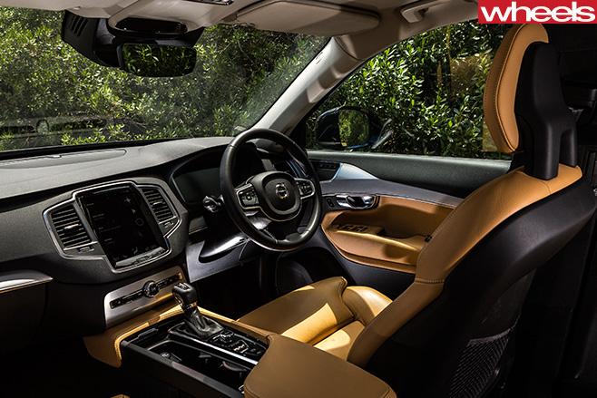Volvo -XC90-interior