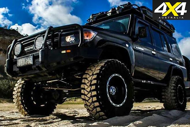 V8 Toyota Landcruiser Black Knight