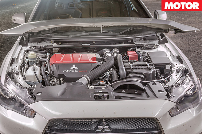 Mitsubishi Lancer Evolution engine