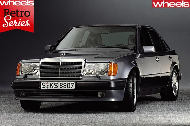 Mercedes -E500-front -grille
