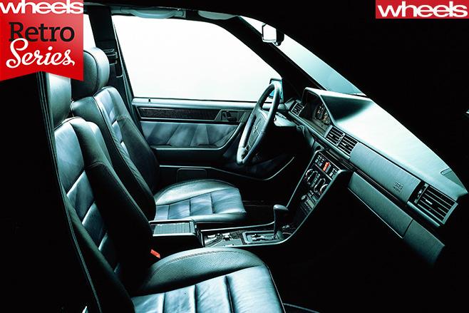 Mercedes -E500-interior