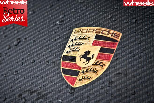 Porsche -badge
