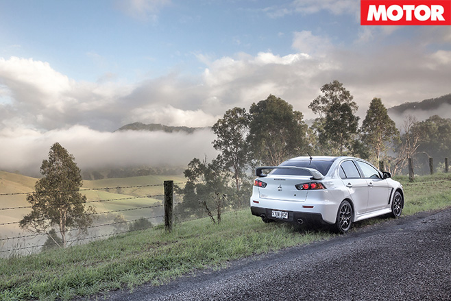 Final goodbye for Mitsubishi Evo Final edition