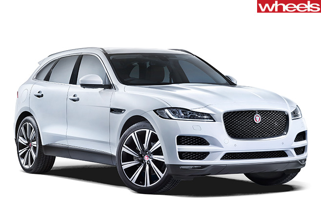 Jaguar -F-Pace -front -side