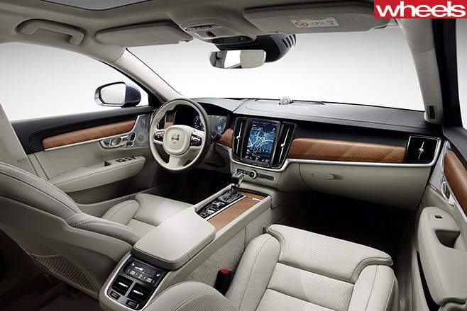 Volvo -V90-interior